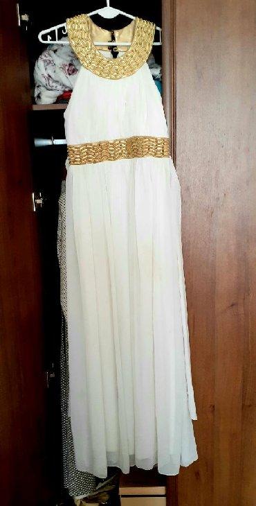 платье в стиле бохо большого размера в Кыргызстан: Отдаю даром платье в греческом стиле, размер 36
