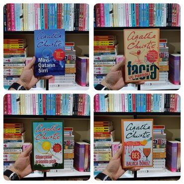 Kitab, jurnal, CD, DVD Gəncəda: Aqata Kristi kitabları