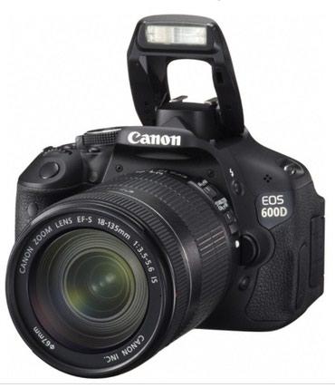 Продаю фотоаппарат санон 600 D с в Бишкек