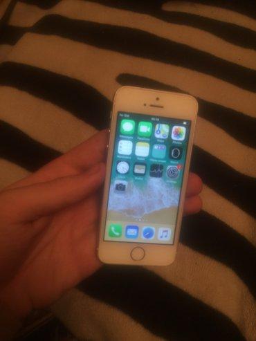 продаю iphone 5s 16gb  color: silver состояние хорошее есть маленькая  in Бишкек