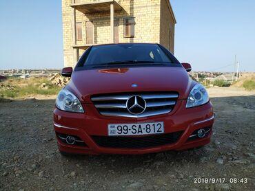 Mercedes-Benz Azərbaycanda: Mercedes-Benz B-class 1.7 l. 2009 | 38700 km