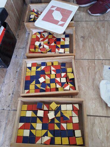 """Срочно продаю """"Кубики Никитины"""" для детского сада. 3 коробки отдам за"""
