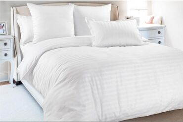 пододеяльник в Кыргызстан: Продаю комплект постельного белья, гостиничное, пользовались очень
