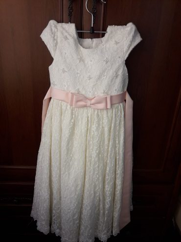 гипюр платье в Кыргызстан: Нарядное платье на девочку, которое прекрасно подойдёт на любой праздн