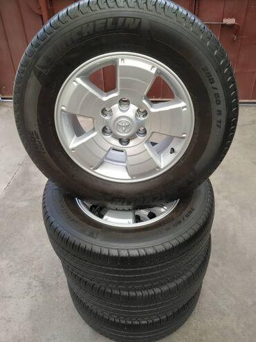 Toyota 4runner 265/65/17 состояние идеальное, без ремонтов комплект в