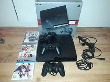 Prodajem Sony Playstation PS3 160GB   Uz konzulu ide:   - Kabal - Beograd
