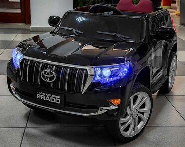 Детская машина электромобиль Land Cruiser Prado  гарантия 2 года +меся