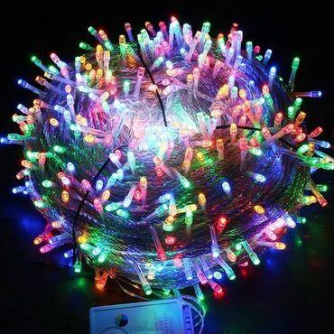 Kućne potrepštine - Arandjelovac: 2000dinLed lampice 50m duzine1200dinLampice 20m duzineVelika