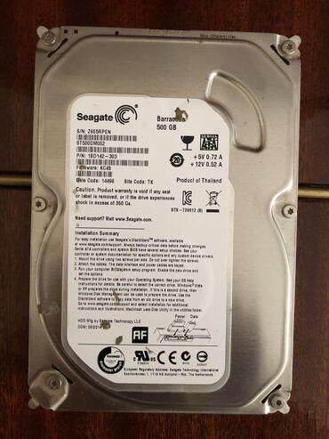 hard disc - Azərbaycan: Hard disk 500gb
