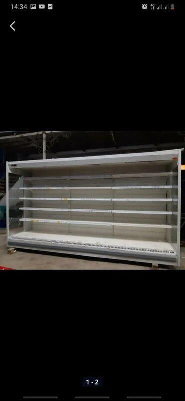 Холодильные горки.  Комплект выносным агрегатом Любые размеры.  Состоя