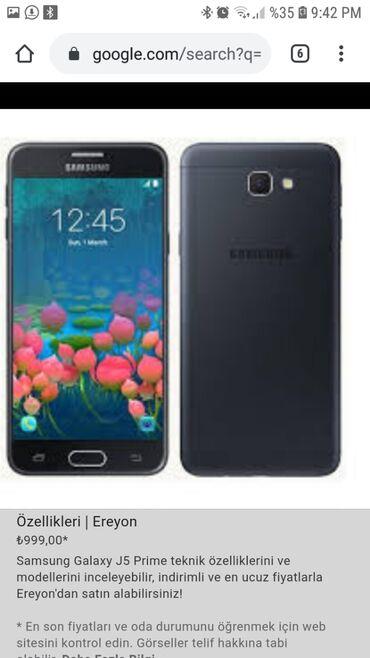 Samsung not 5 - Azərbaycan: İşlənmiş Samsung Galaxy J5 2016 16 GB qara