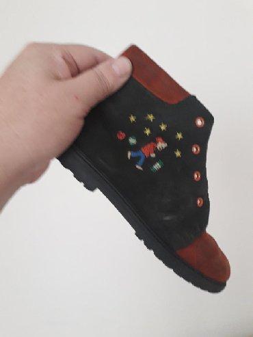 замшевая туфля в Кыргызстан: Детские замшевые немецкие ботинки, состояние отличное, размер 3о