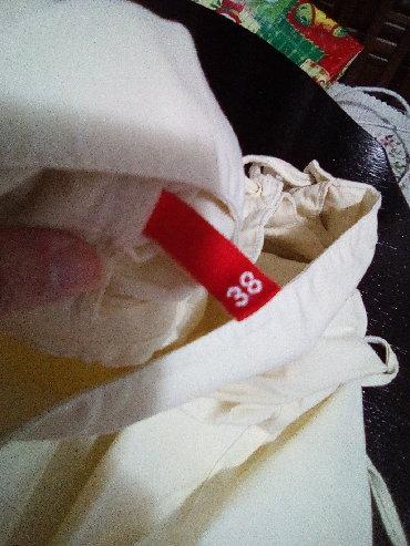 HM haljina na pertlanje s preda, pamucna. 38 broj