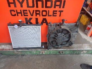 черный hyundai в Кыргызстан: Радиатор Hyundai Getz