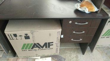 Bakı şəhərində Ofis masasi tezedi 120 ×60 sm olcu cekmeceli acarlidi sayi coxdu