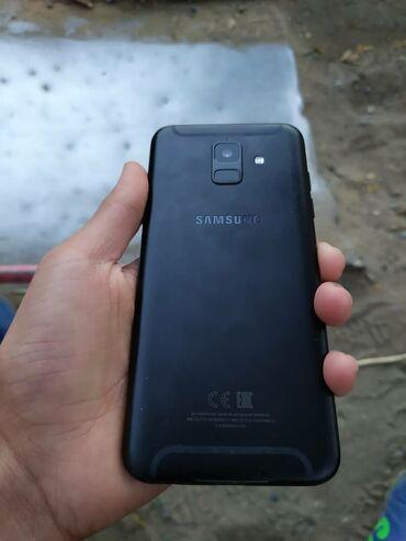 samsung a6 в Кыргызстан: Б/у Samsung Galaxy A6 32 ГБ Черный