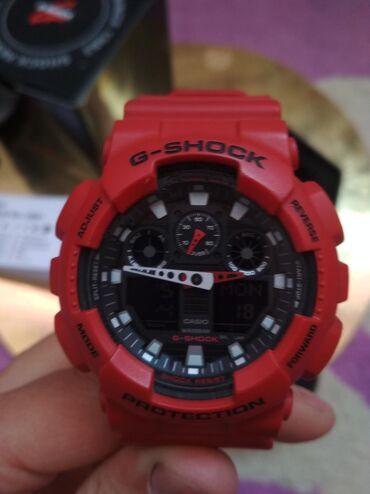 Красные Унисекс Наручные часы Casio