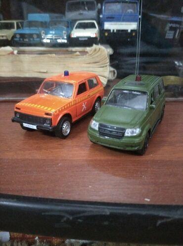 Спорт и хобби - Кок-Джар: Продаю две колекционых модели состояние б/у нива 350с патриот 350с