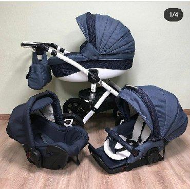 adamex barletta 3в1 в Кыргызстан: Продаю коляску Adamex Barletta 3 в 1. В комплекте автокресло от 0+ до