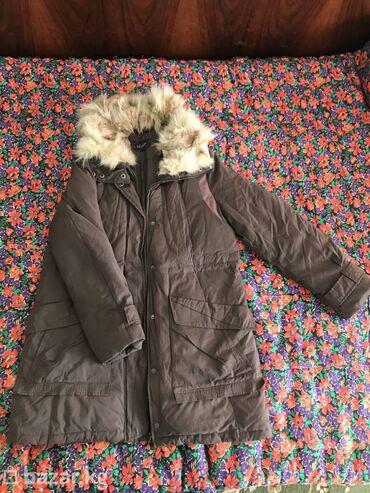 Срочно продам теплую куртку (положу в подарок новые носочки) 42-46