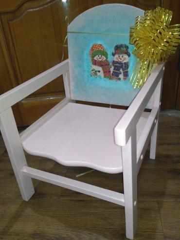 Отличный подарок! Стульчик для ребенка до 5 лет. 3 микрорайон. в Бишкек