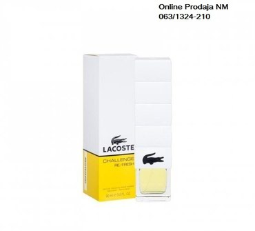 Lacoste Challenge Refresh 90 ml M - Belgrade