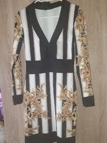 Haljina bolje stoji punijim osobama duzina materijal pa - Srbija: Prelepa haljina doneta iz inostranstva,izuzetno cvrst materijal