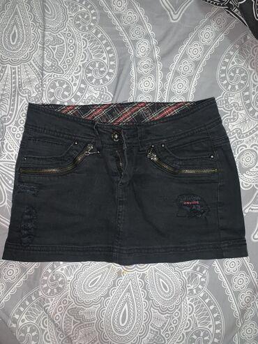 Mini teksas suknja, jednom nosena-kao nova