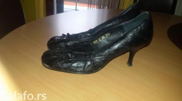 Duzina cm crni - Srbija: Crne cipele,velicina 38,duzina gazista 24,5 cm