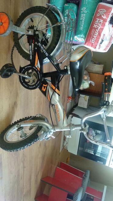 Другие товары для детей в Токмак: Детский велосипед состояние хорошее от 2-5 лет окончательно 2000