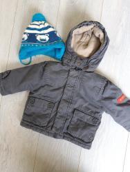Dečija odeća i obuća - Ruski Krstur: Zimska jakna za bebe,velicina 68-74