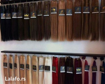 Ekstenzije za kosu na klipse (šnale) u svim bojama i nijansama. Polupr