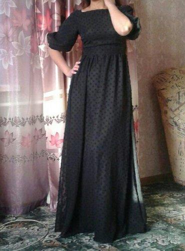 Платье б\у одевалось 1 раз, спинка открыто. в Лебединовка