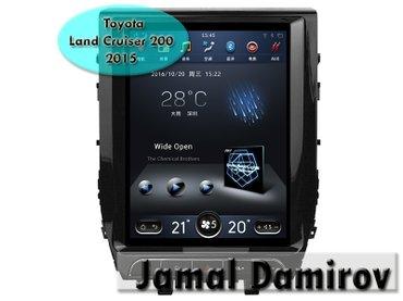 Bakı şəhərində Toyota land cruiser 200 2015 üçün androİd dvd-monitor. Androİd