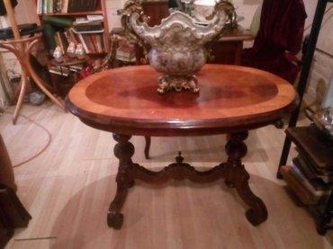 stari salonac sto,90x60x60cm,alt dojc - Beograd