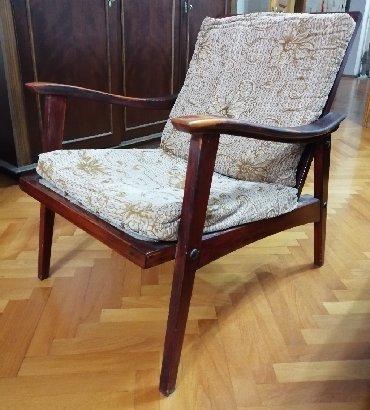 деревянная мозаика в Азербайджан: Румынское кресло, деревянное