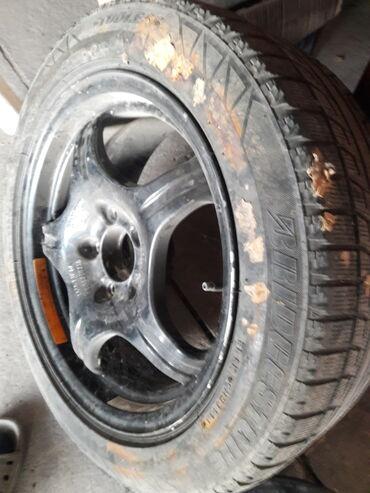 литые диски r16 в Кыргызстан: Продаю литый диск запаску на Mercedes Benz w210 r16 с болтами. В