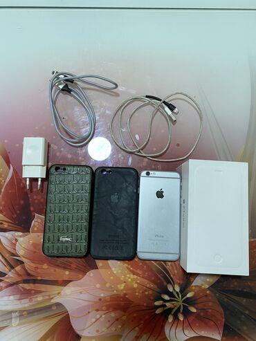 iphone qablari - Azərbaycan: Iphone 6/64gb telefon açilib ekrani 1 defe deyisib 50manatliq ekran