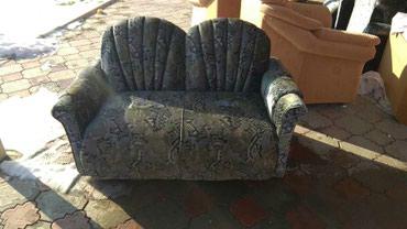 Два двухместных дивана и два кресла. Велюр. В хорошем состоянии. в Бишкек