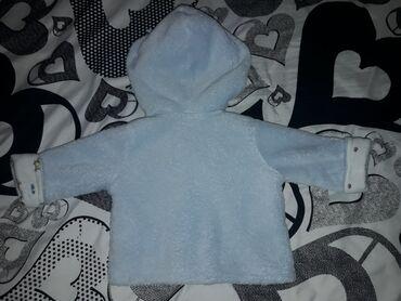 Ruska kapa - Srbija: Bebi plavi duksic ili tanja jaknica, veoma mekana za novorodjence