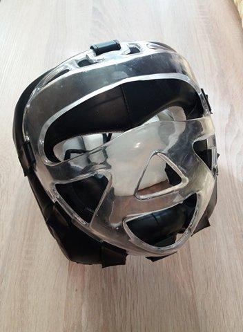 Bma - boxing helmet - kozna zastitna kaciga za glavu - Kragujevac