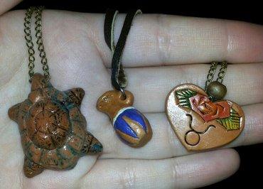 Новые украшения из глины ручной в Бишкек