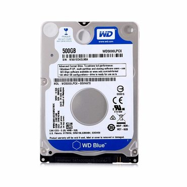 "Hard disk WD 2,5"" 500 GB  в Баку"
