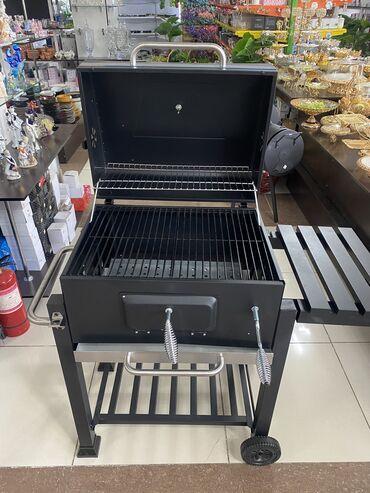 New!! Мангал для барбекю BBQ GRILLT-24 передвижной с колёсами. Страна
