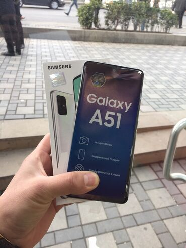 Samsung a51 kabura - Azərbaycan: Yeni Samsung A51 64 GB ağ