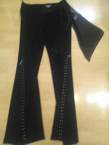 Pantalone za pudame - Srbija: Pantalone sa cirkonima kvalitetne za svecane prilike.Velicina 38