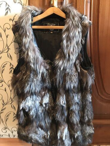 Личные вещи - Кашка-Суу: Продаю жилетку чернобурка . За символическую цену