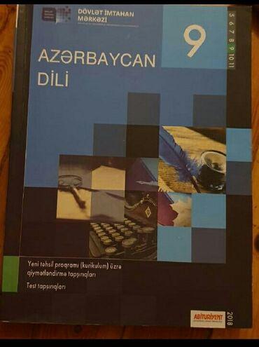 azerbaycan dili test toplusu pdf в Азербайджан: Dim Azerbaycan dili test kitabı. Təcili satilir