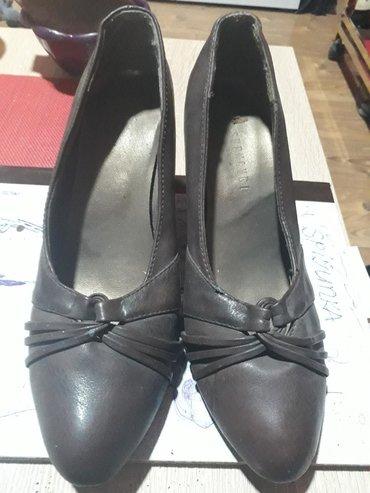Ženska obuća   Vrbas: Zenske cipele braon boje u dobrom stanju