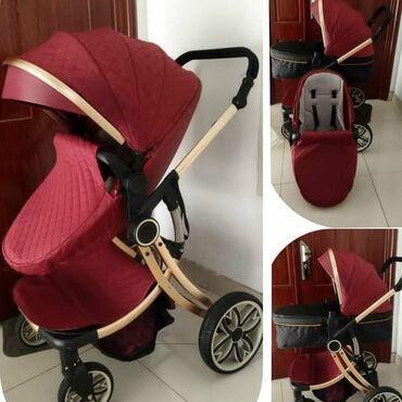 Коляски - Кыргызстан: Продается коляска 2 в 1Состояние новогоПользовались 3 месяца, ребенок